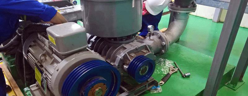 Lỗi hư hỏng phổ biến ở máy sục khí công nghiệp