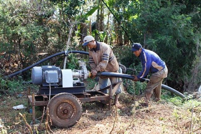 Chọn máy bơm nước tưới cây công nghiệp