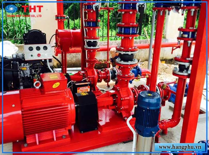 Hệ thống bơm nước PCCC có những gì