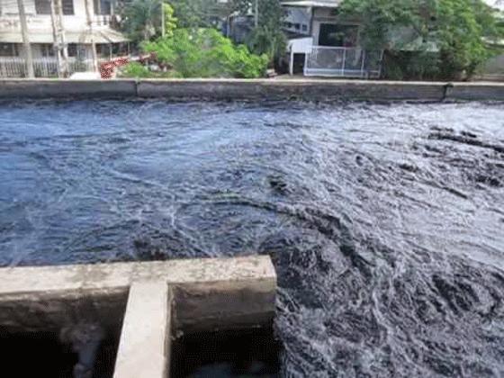 Máy khấy thả chìm trong hệ thống xử lý nước thải