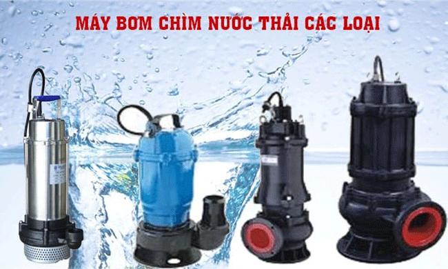 Một số ứng dụng thường gặp của máy bơm thả chìm